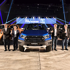 New Ford Ranger Features New Generation Powertrain with 10
