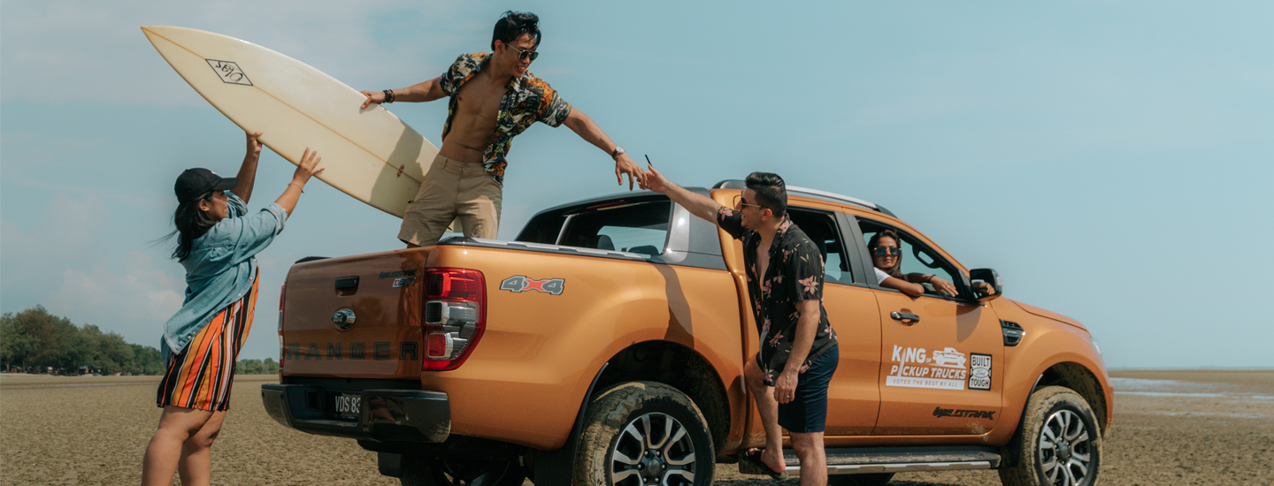 Going Rogue Can The Ford Ranger Pickup Really Replace The Family Car Ford Stories Sdac Ford Malaysia